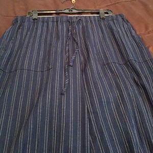 Jones of New York striped navy pants